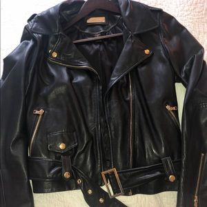 Danier leather jacket S size fits more like M
